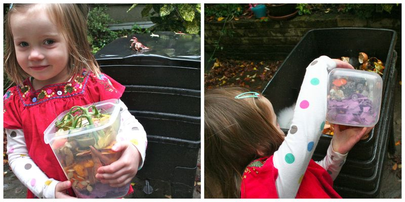Feeding the worms